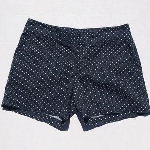 Tommy Hilfiger Navy Blue/White Polka Dots Shorts